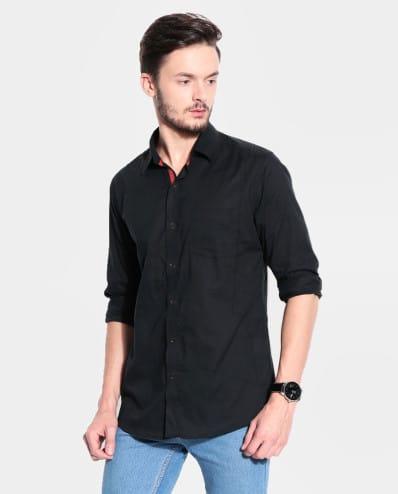 Mens Black Shirt 1
