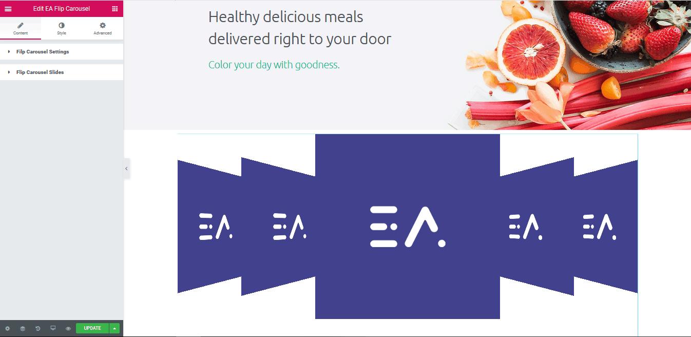 EA Flip Carousel