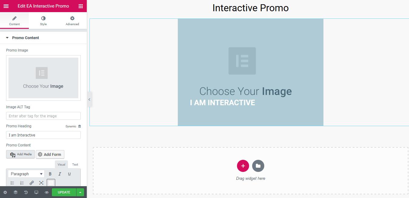 Interactive Promo
