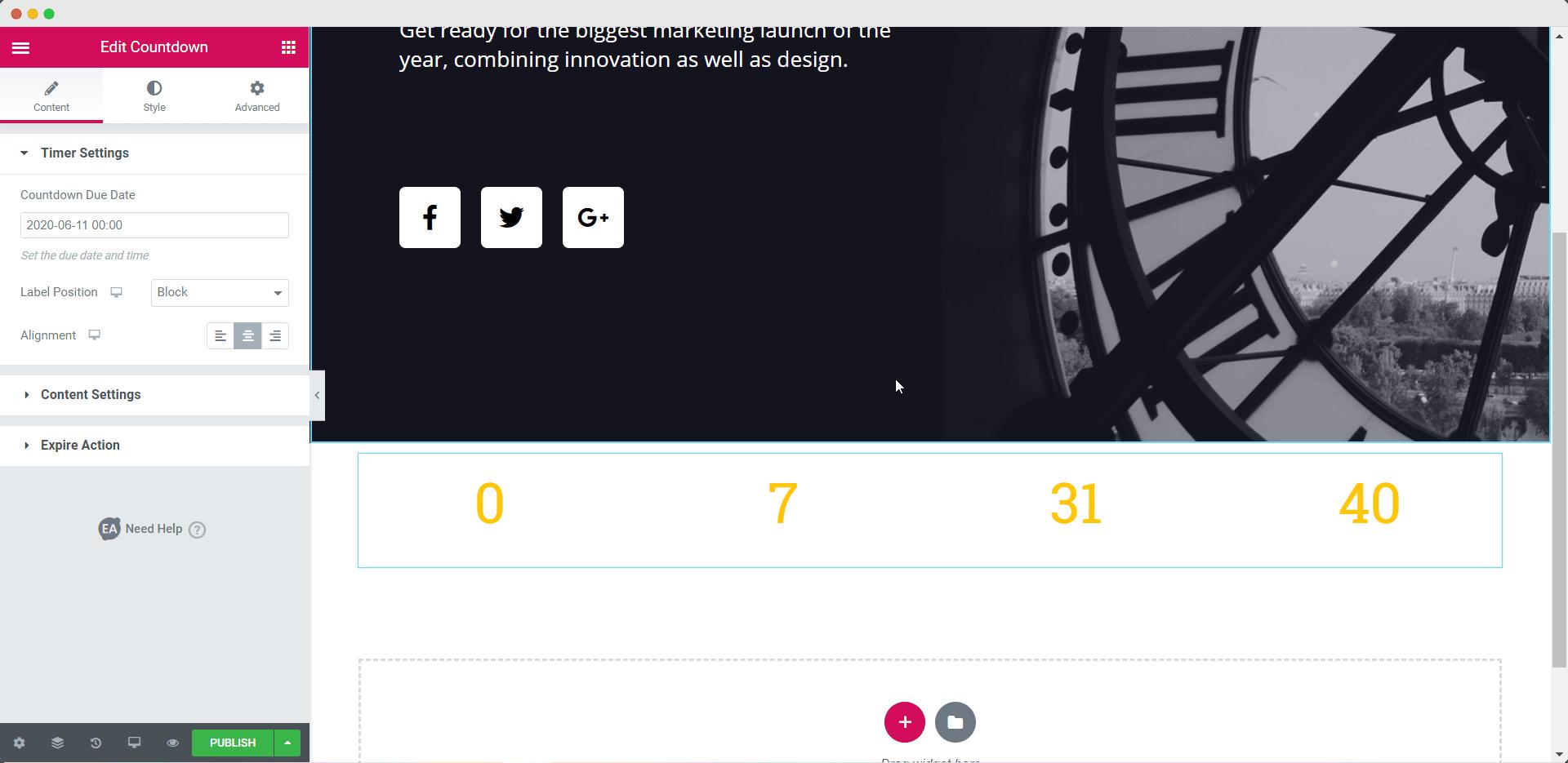 EA Countdown