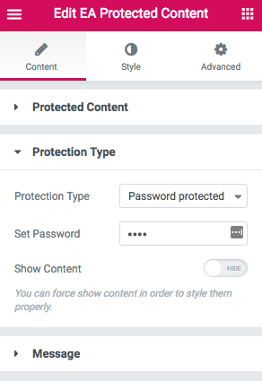 Protected Content 3