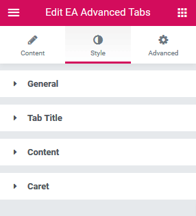 Nested Advanced Tabs