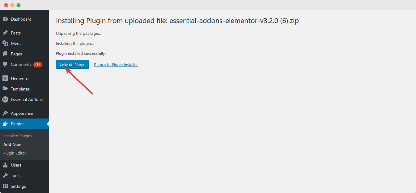How to Manually Update Essential Addons PRO? 4