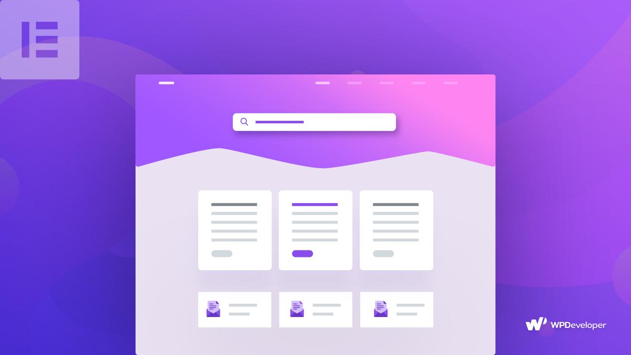 documentation page Elementor