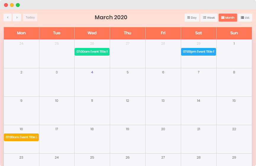 Integrate The Events Calendar WordPress Plugin Using Essential Addons for Elementor 6